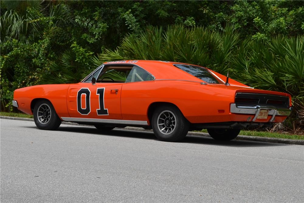 la dodge charger surnomm e general lee est mise aux ench res le blog de nounours. Black Bedroom Furniture Sets. Home Design Ideas